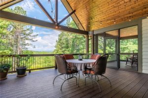 105 Scenic Crest Way screened porch to enjoy views